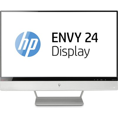 HP ENVY 24 23.8` Diagonal IPS Monitor with Beats Audio - OPEN BOX