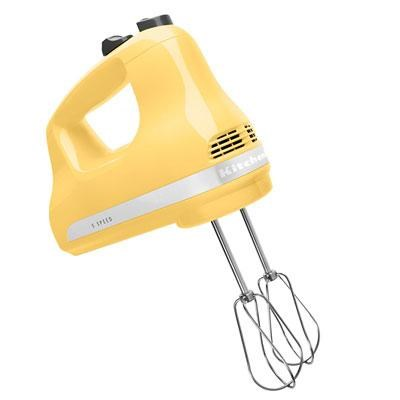 5-Speed Ultra Power Hand Mixer in Majestic Yellow - KHM512MY