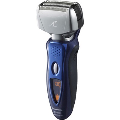 Men's 4-Blade (Arc 4) Wet/Dry Rechargeable Blue Electric Shaver