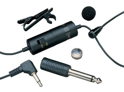 ATR 3350i Omnidirectional Condenser Lavalier Microphone