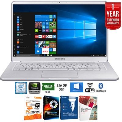 NP900X5N-X01US 15` Notebook 9 Intel i7-7500U 16GB Laptop+Ext. Warranty Pack