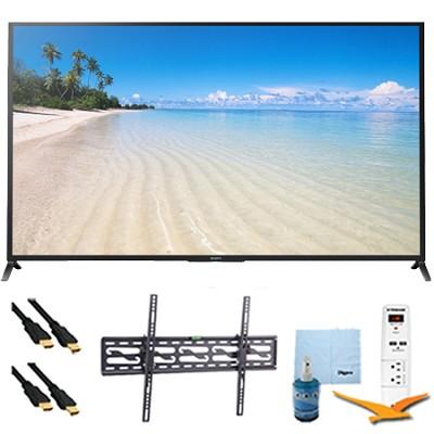 70` 1080p 120Hz Smart 3D LED HDTV Wifi Plus Tilt Mount HookUp Bundle KDL70W850B