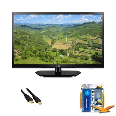 24LN4510 24 Inch TV 720p 60Hz EDGE LED HDTV Value Bundle