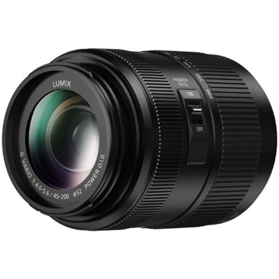 LUMIX G VARIO 45-200mm, F4.0-5.6 II Mirrorless Lens - H-FSA45200