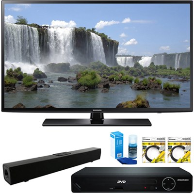 55` 1080p Full HD LED Smart HDTV + HDMI DVD Player & Sound Bar Bundle