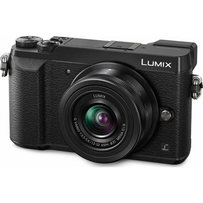 LUMIX GX85 4K Mirrorless Interchangeable Lens Camera with 12-32mm Lens - Black