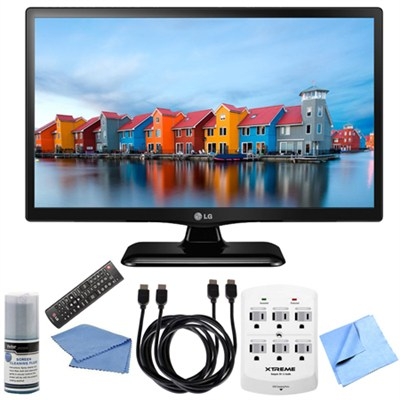 28LF4520 - 28-Inch HD 720p 60Hz LED TV Hook-Up Bundle