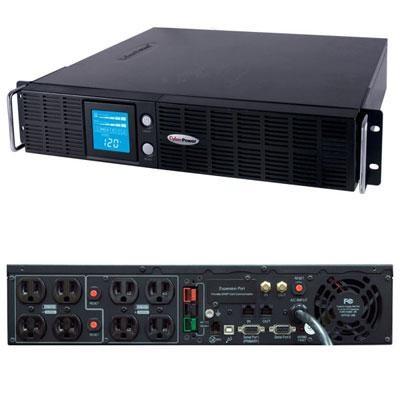 1500VA 2U Uninterruptible Power Supply AVR 2U with Smart App - OR1500LCDRTXL2U