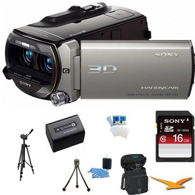 HDR-TD10 High Definition 3D Handycam Camcorder ULTIMATE BUNDLE