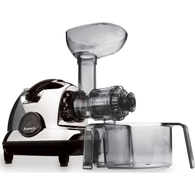 NJE-3570U Masticating Slow Juicer, Chrome