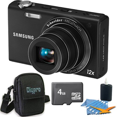 WB210 Black Digital Camera 4 GB Bundle