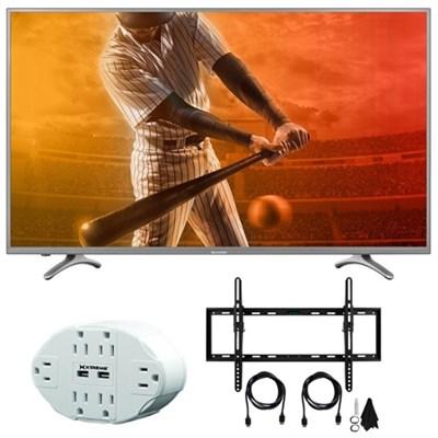 Aquos N5000 Full HD 50` Class 1080p 60Hz WiFi Smart LED TV w/ Mount Bundle