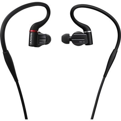 XBA-Z5 Ultimate Hybrid 3-Way Hi-Res In-Ear Headphones - OPEN BOX