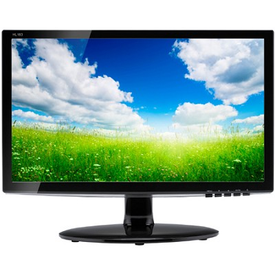 16-Inch Widescreen LED Monitor (HL163ABB)