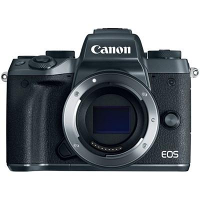 EOS M5 Mirrorless Digital Camera - Black (Body Only)