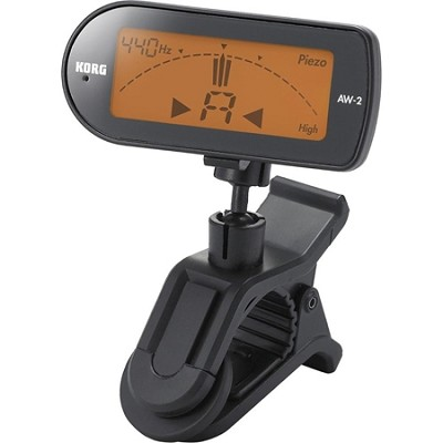 AW2G Clip-on Chromatic Guitar Tuner