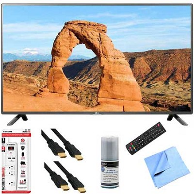 49LF5500 - 49-inch 1080p 60Hz LED HDTV Plus Hook-Up Bundle
