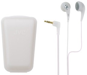 Ultra Soft/Comfortable Ear Bud Headphones (White)