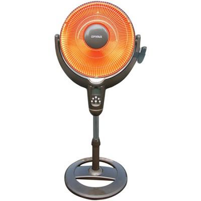 H-4501 14` Oscil Pedestal Digital Dish Heater with Remote