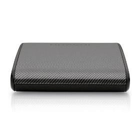 SimpleDrive Mini 500 GB USB 2.0 Portable External Hard Drive SDM/500CF (Carbon)
