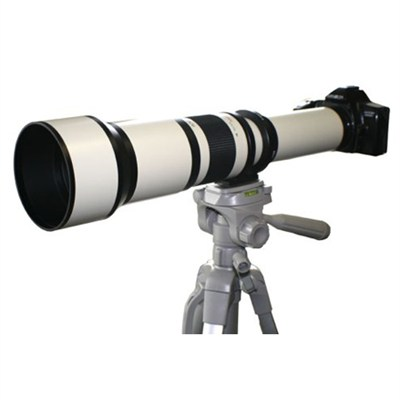650-1300mm F8.0-F16.0 Zoom Lens  (White Body) - 650Z - OPEN BOX