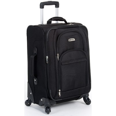 Illusion Spinner Carry-On Trolley (Black) - 64444BK