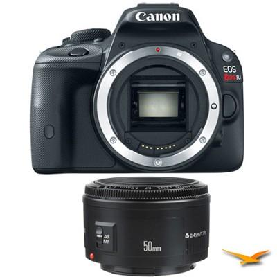 EOS Rebel SL1 SLR Digital Camera and EF 50mm F/1.8 II Standard Auto Focus Lens