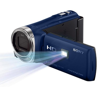 Sony HDR-PJ340/LI Full HD 60p Camcorder with Wifi and built-in Projector (Blue)