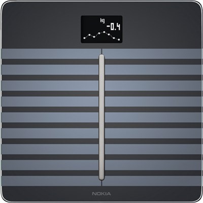 Nokia WBS04 Body Cardio - Heart Health and Body Composition Wi-Fi Scale, Black