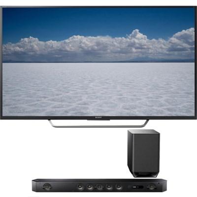 XBR-55X700D 55-Inch Class 4K HDR Ultra HD TV w/ Hi-Res Sound bar Bundle