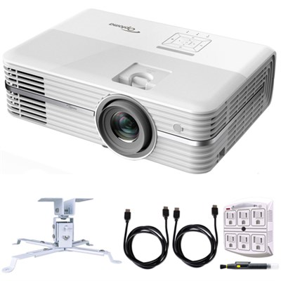 UHD50 4K UHD Home Theater Projector with Projector Mount Bundle