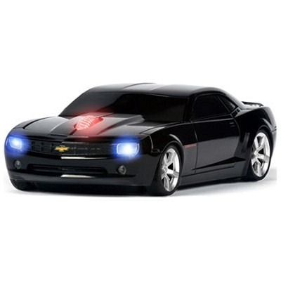 Chevrolet Camaro Wireless Optical Mouse (Black)