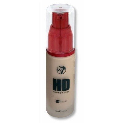 HD 12 HR Liquid Foundation, Pump - Sand Beige, 30ml/1.01fl oz