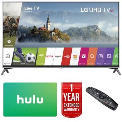 60` Super UHD 4K HDR Smart LED TV (2017 Model) w/ Netflix + Extended Warranty