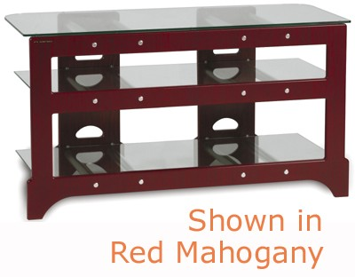 TL-3V Audio/Video Television Stand (Light Cherry)