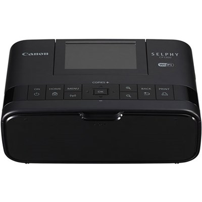 SELPHY CP1300 Wireless Compact Photo Printer with AirPrint (Black) - 2234C001
