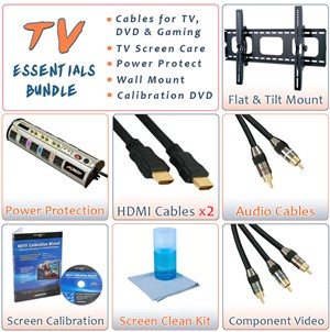 HDTV Essentials Mega Savings Package