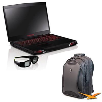 M17x R3 AM17XR3-6579STB 17.3` Notebook PC Bundle