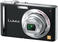 DMC-FX55 (Black) Lumix 8.1 MP Digital Camera w/ 3.6x Optical Zoom