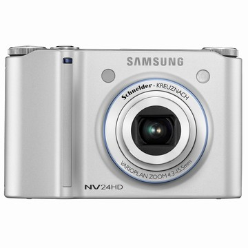 NV24HD 10MP 2.5` LCD Digital Camera (Silver) - Open Box