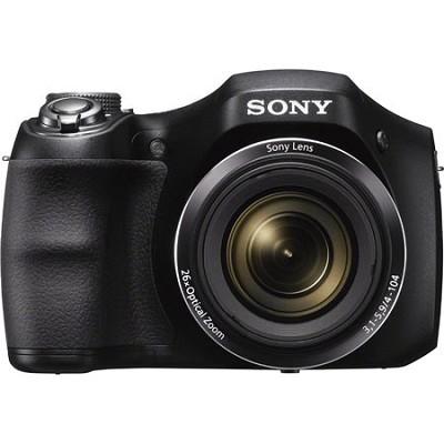 DSC-H200/B 26X Optica Zoom HD Video Digital Camera