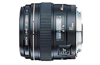 EF 85mm f/1.8 USM Medium Telephoto Lens for Canon SLR Cameras OPEN BOX