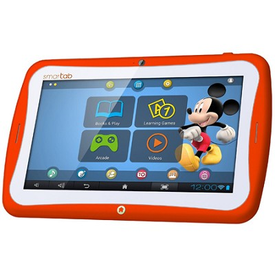 Smart Tab 7` Tablet Disney Content Dual Core - Orange
