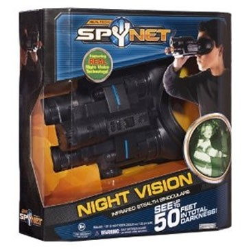 Night Vision Infrared Stealth Binoculars- See Up To 50 Feet In Total Darkness!!