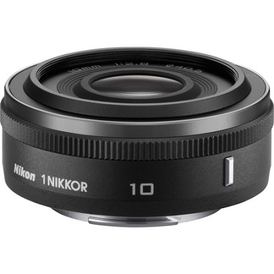1 NIKKOR 10mm f/2.8 Lens Black - Factory Refurbished