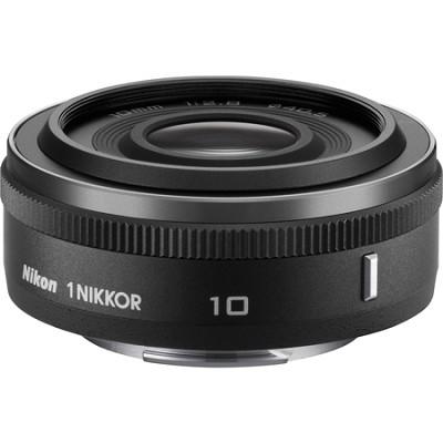 1 NIKKOR 10mm f/2.8 Lens Black - Factory Refurbished