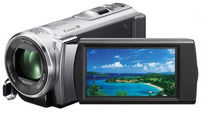 HDR-CX210 HD Camcorder 8GB Camcorder w/ 25x (Silver)    OPEN BOX
