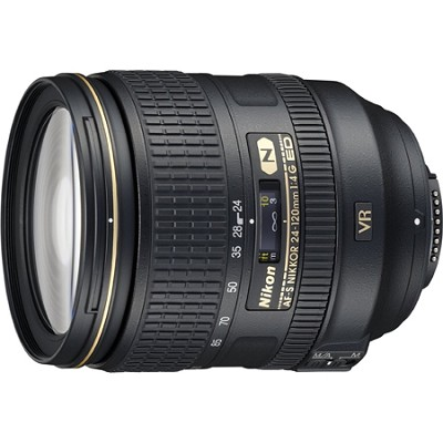 2193 - 24-120mm f/4G ED VR AF-S NIKKOR Lens for Nikon DSLRs Factory Refurbished