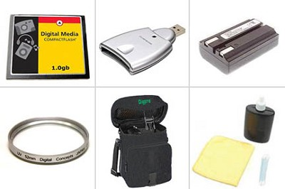 Bargain Accessory Kit for Minolta Dimage A200