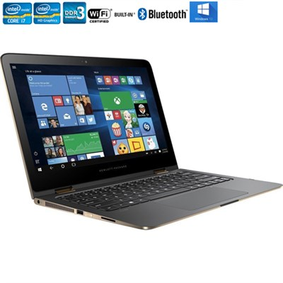 13-4116dx Spectre x360 13.3` Intel Core i7-6500U Convertible Laptop -Refurbished